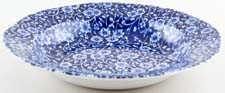 Burleigh Calico Dessert or Small Soup Plate rimmed c1970