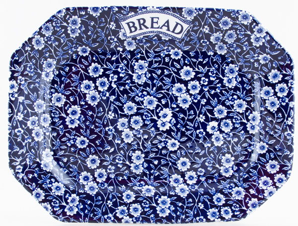 Burleigh Calico Bread Serving Platter c2000