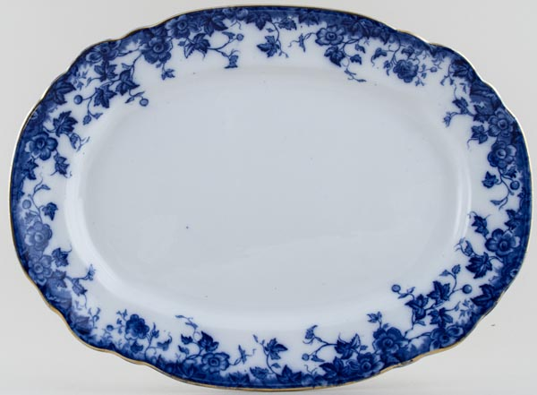Burgess and Leigh Vermont Meat Dish or Platter c1890s