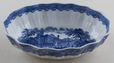 Cauldon Blue Moore Bowl c1915