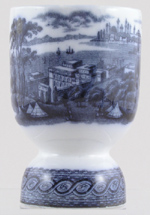 Egg Cup Double c1900