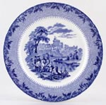 Cauldon Royal Castles Plate Windsor Castle c1935