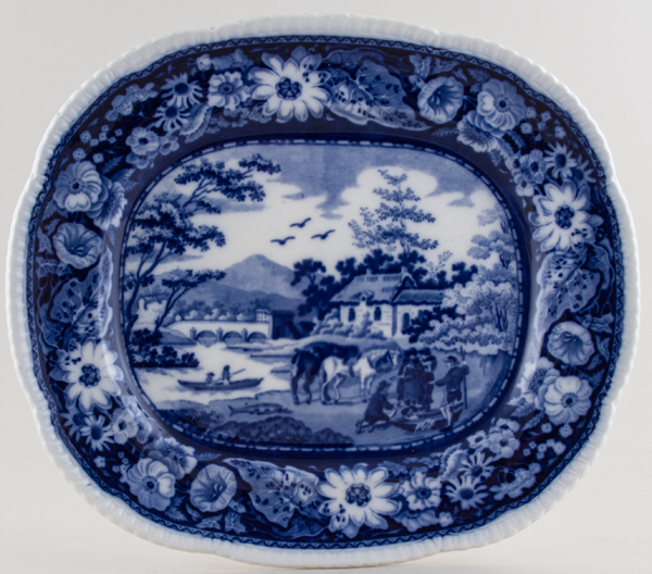 Cauldon Native Platter c1930s