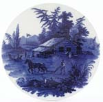 Wall Plate c1900