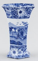 Cauldon Native Vase c1930s
