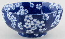Cauldon Prunus Bowl c1920s