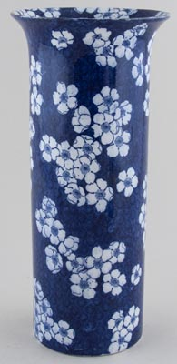 Cauldon Prunus Vase large c1930