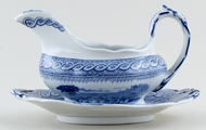 Sauce Boat with Fixed Stand c1900