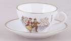 Miniature Cup and Saucer c1978