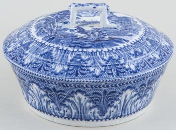 Butter Dish with cover c1930s