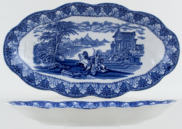 Cauldon Chariot Dish for Tomatoes c1930s