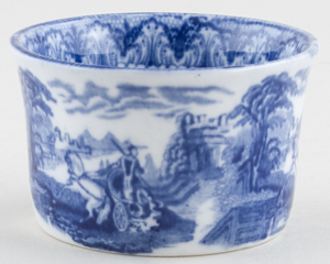 Cauldon Chariot Sugar Bowl c1930s