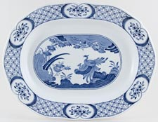 Furnivals Old Chelsea Meat Dish or Platter c1930s