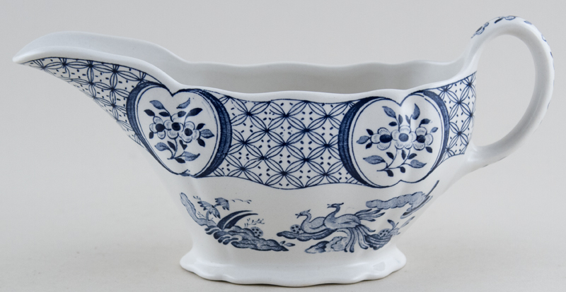 Furnivals Old Chelsea Sauce Boat