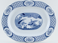 Furnivals Old Chelsea Meat Dish or Platter