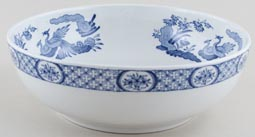 Furnivals Old Chelsea Bowl large c1930s