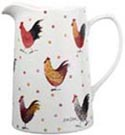 Queens Alex Clark Rooster colour Jug or Pitcher Tankard small