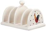 Queens Alex Clark Rooster colour Toast Rack