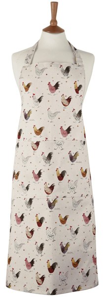 Queens Alex Clark Rooster colour Apron