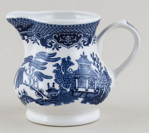 Churchill Blue Willow Creamer or Jug