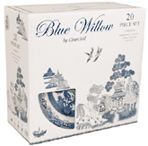 Churchill Blue Willow Set 20 Pieces