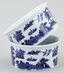 Churchill Blue Willow Ramekins set of 2 ovenproof