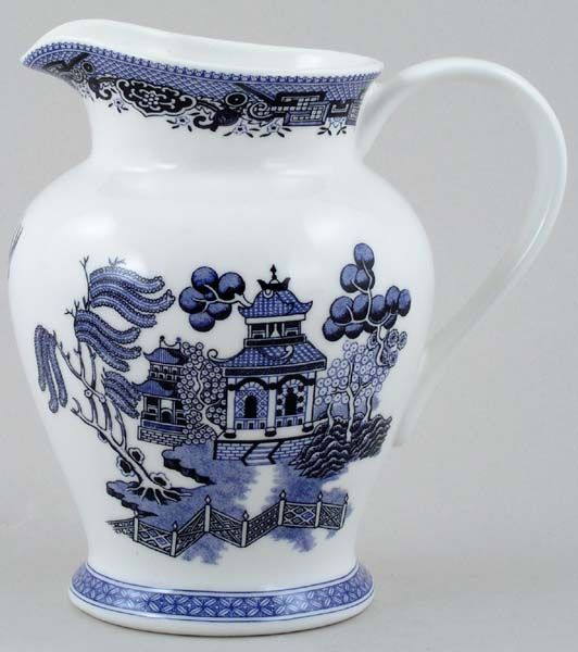 Churchill Blue Willow Jug or Pitcher