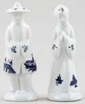 Churchill Blue Willow Salt & Pepper Shakers
