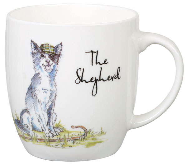 Queens Country Pursuits Mug The Shepherd