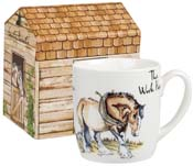 Queens Country Pursuits Mug in a Box The Work Horse