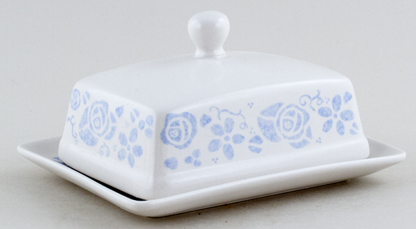 Queens The Fledgling Butter Dish