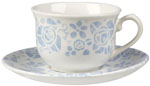 Queens The Fledgling Teacup and Saucer