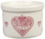 Queens Made with Love pink Ramekin