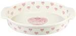Queens Made with Love pink Roaster oval