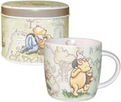 Churchill Winnie the Pooh colour Mug in Tin Hundred Acre Wood