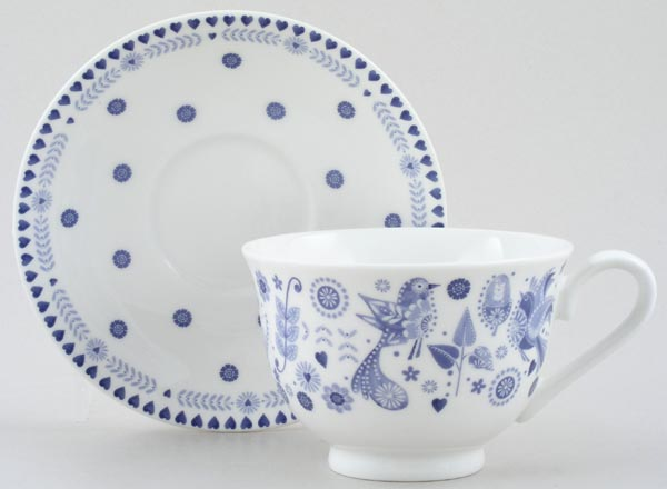 Queens Penzance Teacup and Saucer