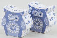 Queens Penzance Salt and Pepper Pots or Shakers