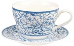 Breakfast Cup and Saucer Arabesque