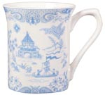 Queens Powder Blue Willow Mug
