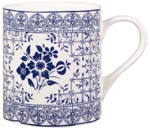 Queens New Story Mug Flowers