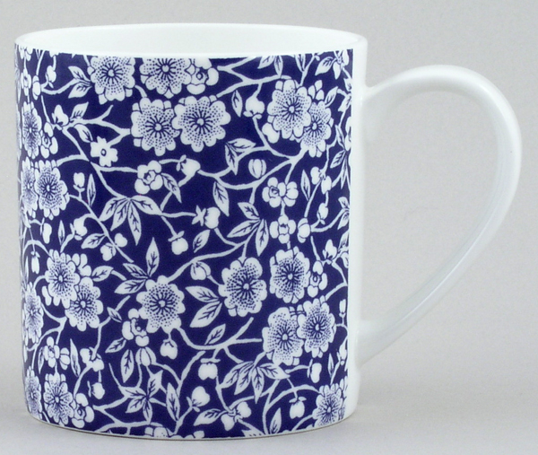 Queens Blue Story Mug Calico