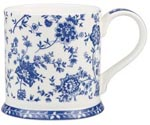 Queens Blue Story Mug Jacobean