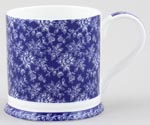 Queens Blue Story Mug Vintage Rose