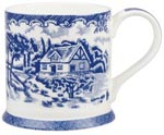 Queens Blue Story Mug Brooke