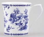 Queens Blue Story Mug Toile