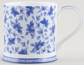 Queens Blue Story Mug Kandy