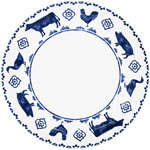 Queens Sieni Highland Croft Dinner Plate