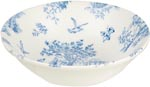Queens Toile de Jardin Cereal or Dessert Bowl