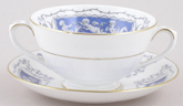 Coalport Revelry Soup Cup and Saucer