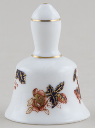 Coalport Hong Kong colour Miniature Bell c1960-1980